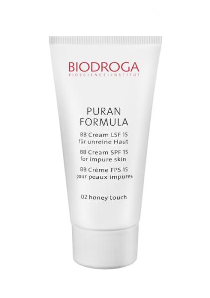 Biodroga Puran Formula BB Cream LSF 15 für unreine Haut 02 honey - 40 ml