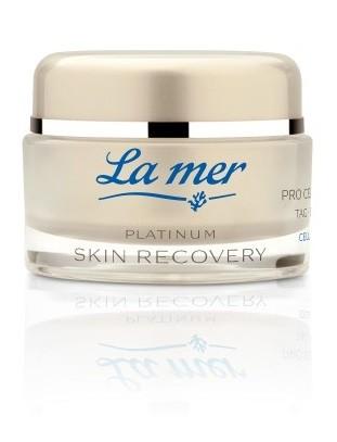 La mer Platinum Skin Recovery Pro Cell Cream Tag
