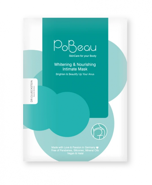 PoBeau Whitening & Nourishing Intimate Mask 1 Stk.
