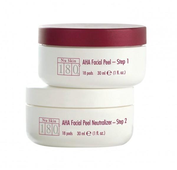 Nu Skin 180° AHA Facial Peel and Neutralizer 30 ml