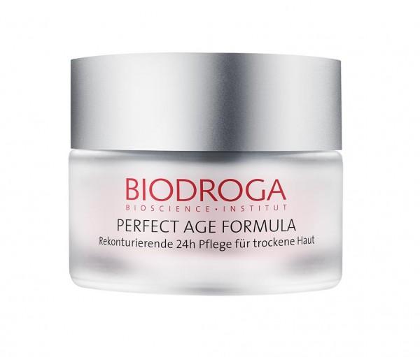 Biodroga Perfect Age Formula Rekonturierende 24h Pflege für trockene Haut 50 ml