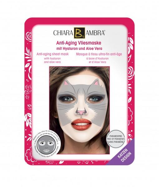 Chiara Ambra Gesichtsmaske im Tierdesign - Katzen Motiv 1 Stk.