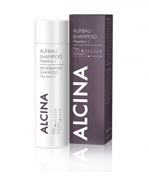 Alcina Aufbau-Shampoo Pflegefaktor 2 - 250 ml