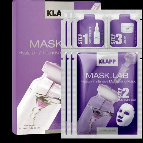 Klapp Mask Lab Hyaluron 7 Intensive Moisturizing Mask