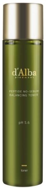 d'Alba Peptide no sebum Balancing Toner