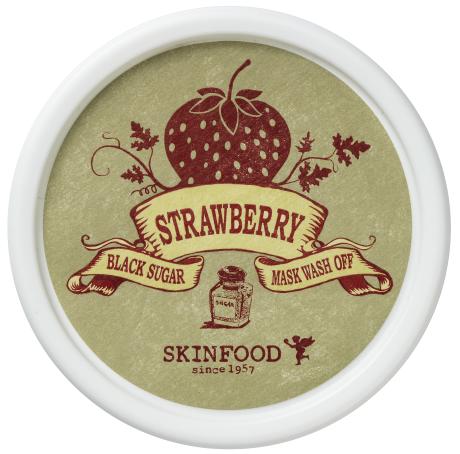 Skinfood Black Sugar Strawberry Mask Wash Off