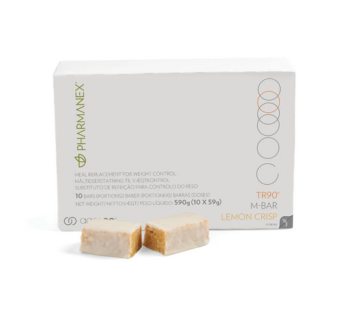 Nu Skin Pharmanex TR90 M-Bar: Lemon Crisp - 30-Riegel-Packung