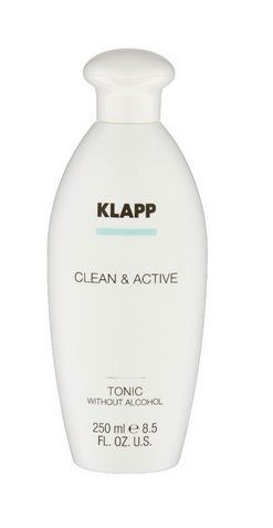 Klapp Clean & Active Tonic Without Alcohol (ohne Alkohol) 250 ml