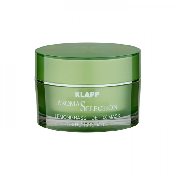 Klapp Aroma Selection Lemongrass Detox Maske 50 ml