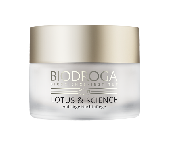 Biodroga Lotus & Science Anti-Age Nachtpflege 50 ml