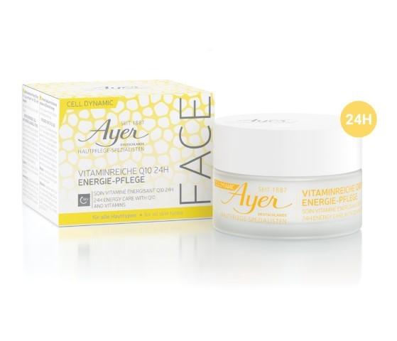 Ayer Specific Cell Dynamic Vitaminreiche Q10 24h Energie-Pflege 50 ml