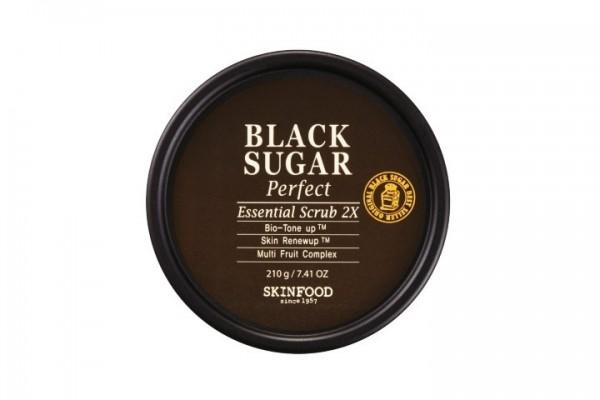 Skinfood Black Sugar Perfect Essential Scrub 2X - 210g