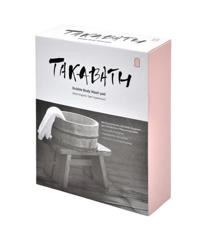 Takabath Bubble Body Wash Pad 1 Box