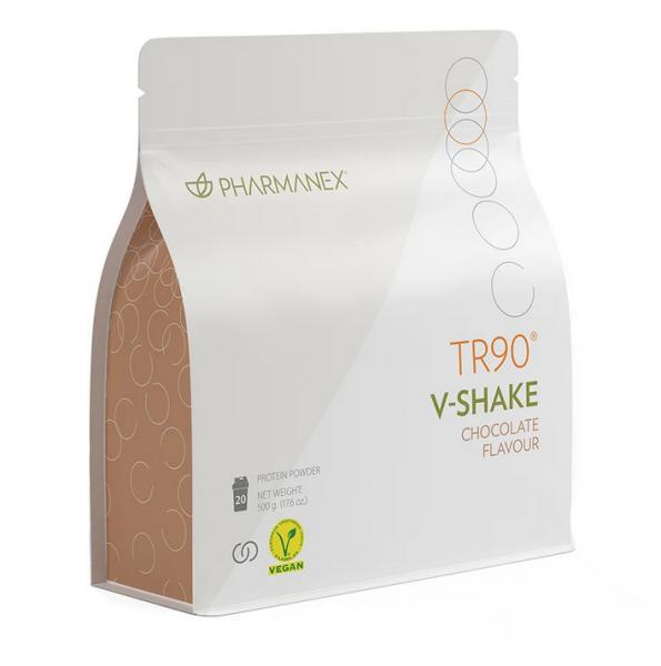 Nu Skin Pharmanex TR90 V-Shake – Veganer Proteinshake mit Schokogeschmack