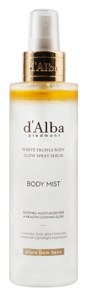 d'Alba White Truffle Body Glow Spray Serum