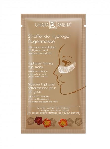 Chiara Ambra Hydrogel Augenmaske mit Goldschimmer Effekt 1 Stk.