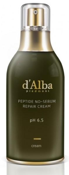 d'Alba Peptide no sebum Repair Cream