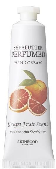 Skinfood Shea Butter Perfumed Hand Cream (Grape Fruit Scent)