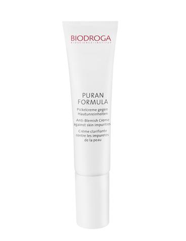 Biodroga Puran Formula Pickelcreme gegen Hautunreinheiten 15 ml