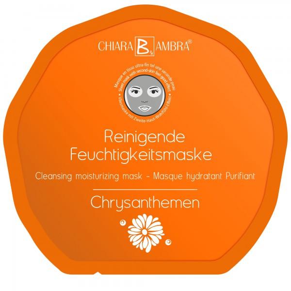 CHIARA AMBRA Gesichtsmaske Chrysanthemen 1 Stk.