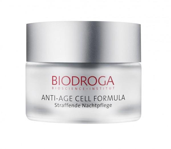 Biodroga Anti-Age Cell Formula Straffende Nachtpflege 50 ml