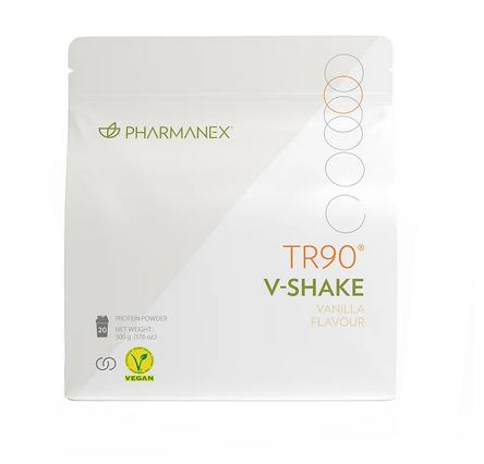Nu Skin Pharmanex TR90 V-Shake – Veganer Proteinshake mit Vanillegeschmack