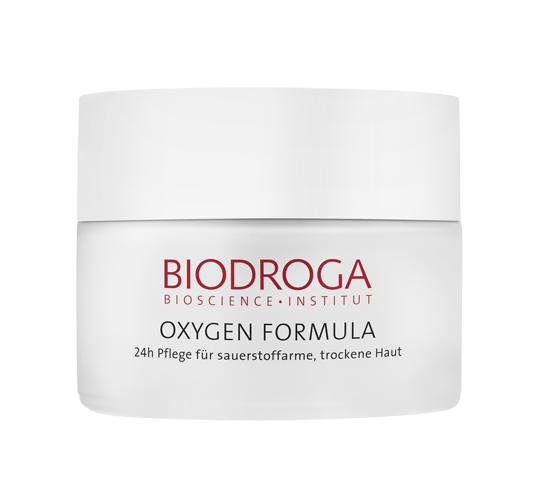 Biodroga Oxygen Formula 24h Pflege für trockene Haut 50 ml