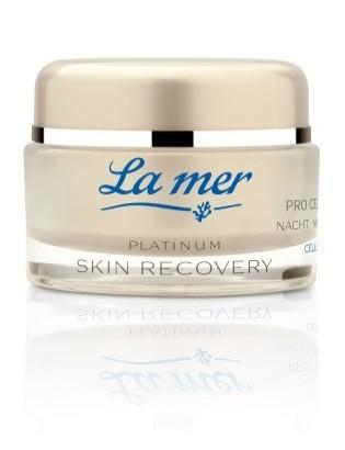 La mer Platinum Skin Recovery Pro Cell Cream Nacht