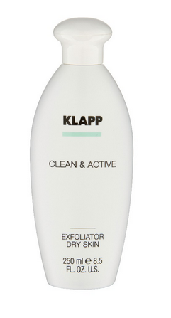 Klapp Clean & Active Exfoliator Dry SKin 250 ml