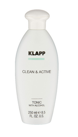 Klapp Clean & Active Tonic With Alcohol (mit Alkohol) 250 ml