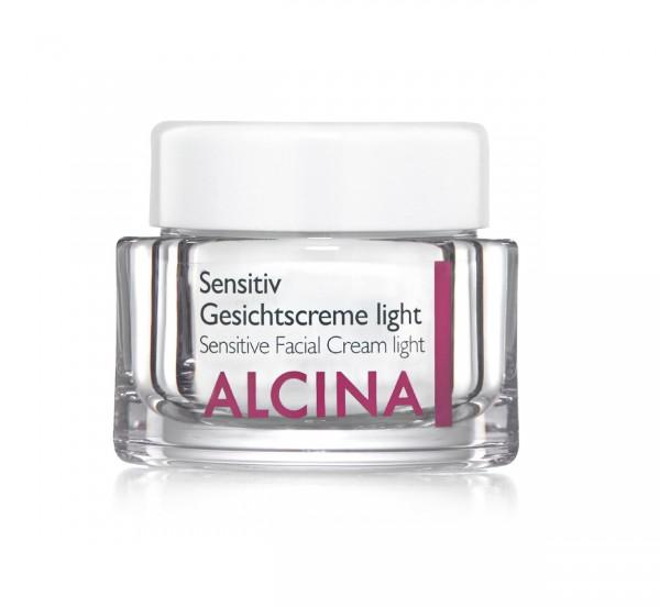 Alcina Sensitiv Gesichtscreme light 50 ml