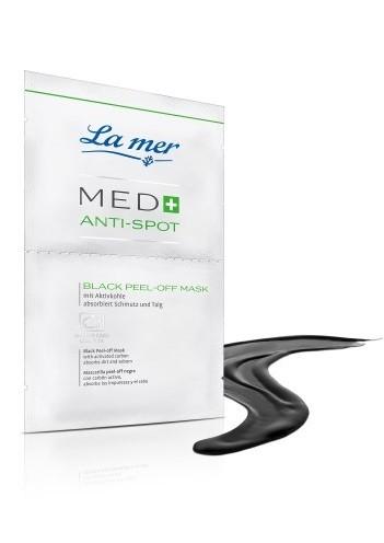 La mer Med+ Anti-Spot Black Peel-off Maske