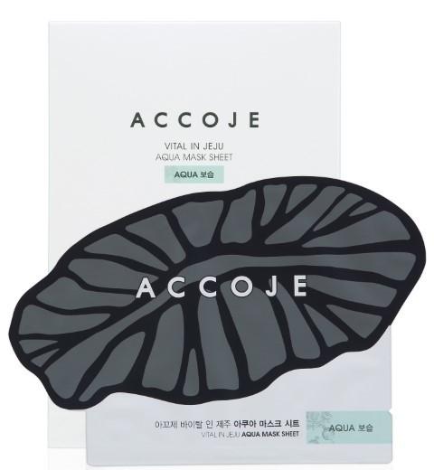 Accoje Vital in Jeju Aqua Sheet Mask