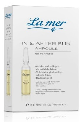 La mer Ampulle In & After Sun