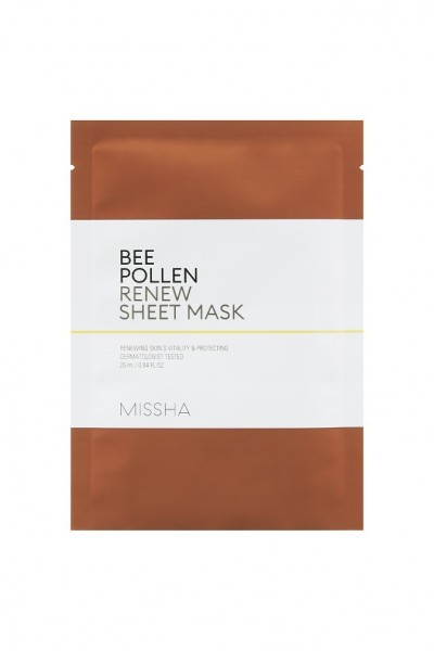 Missha Bee Pollen Sheet Mask 25 ml