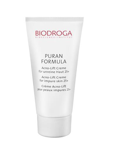 Biodroga Puran Formula Acno-Lift Creme für unreine Haut 25+