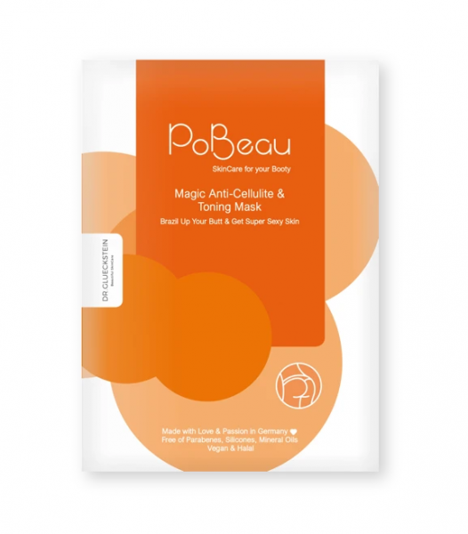 PoBeau Anti Cellulite & Toning Mask 1 Stk.