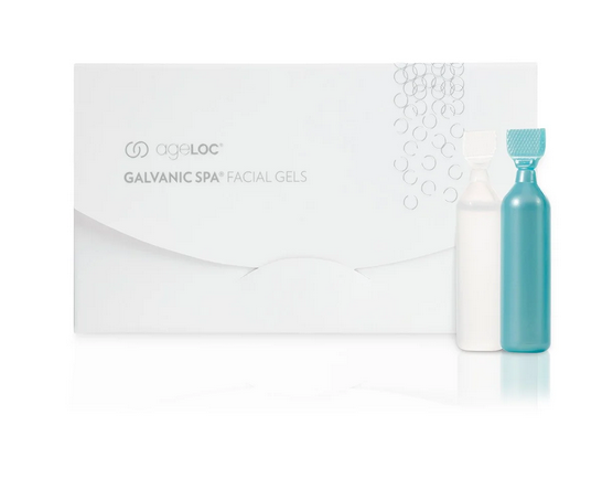 Nu Skin Galvanic Spa System Facial Gels mit ageLOC