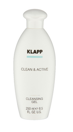 Klapp Clean & Active Cleansing Gel 250 ml